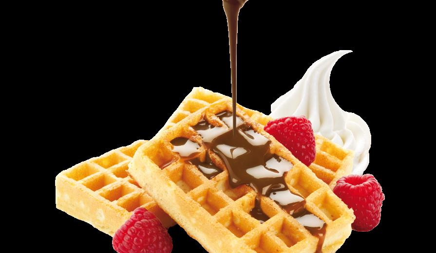 traditional waffle dolccio
