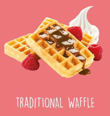 Traditional waffle