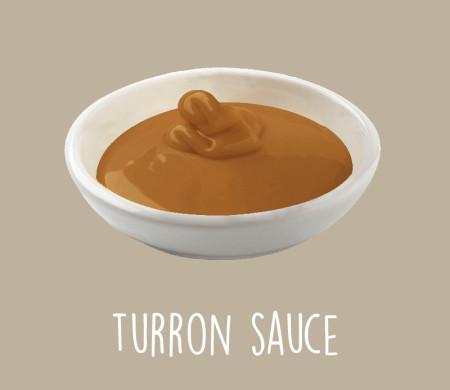 Turron sauce