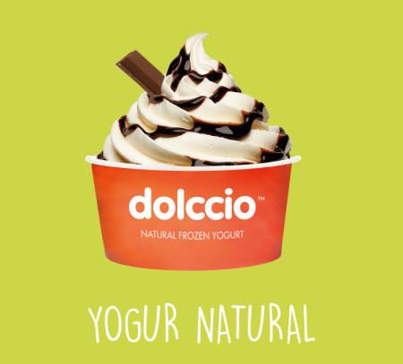 Yogur helado natural