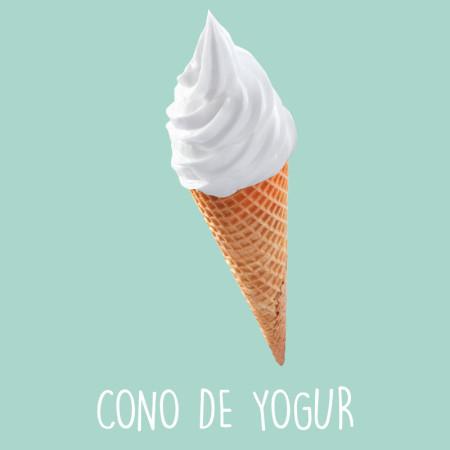 Cono de yogur