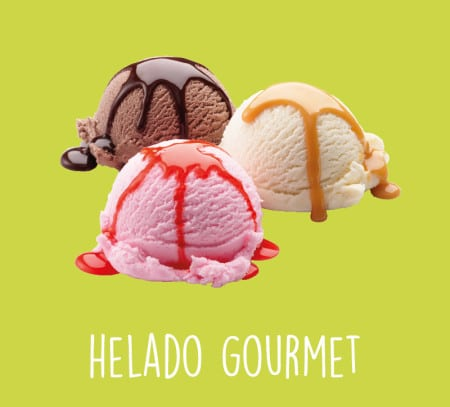 Helados gourmet