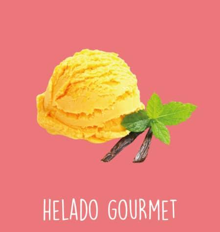 Helado gourmet